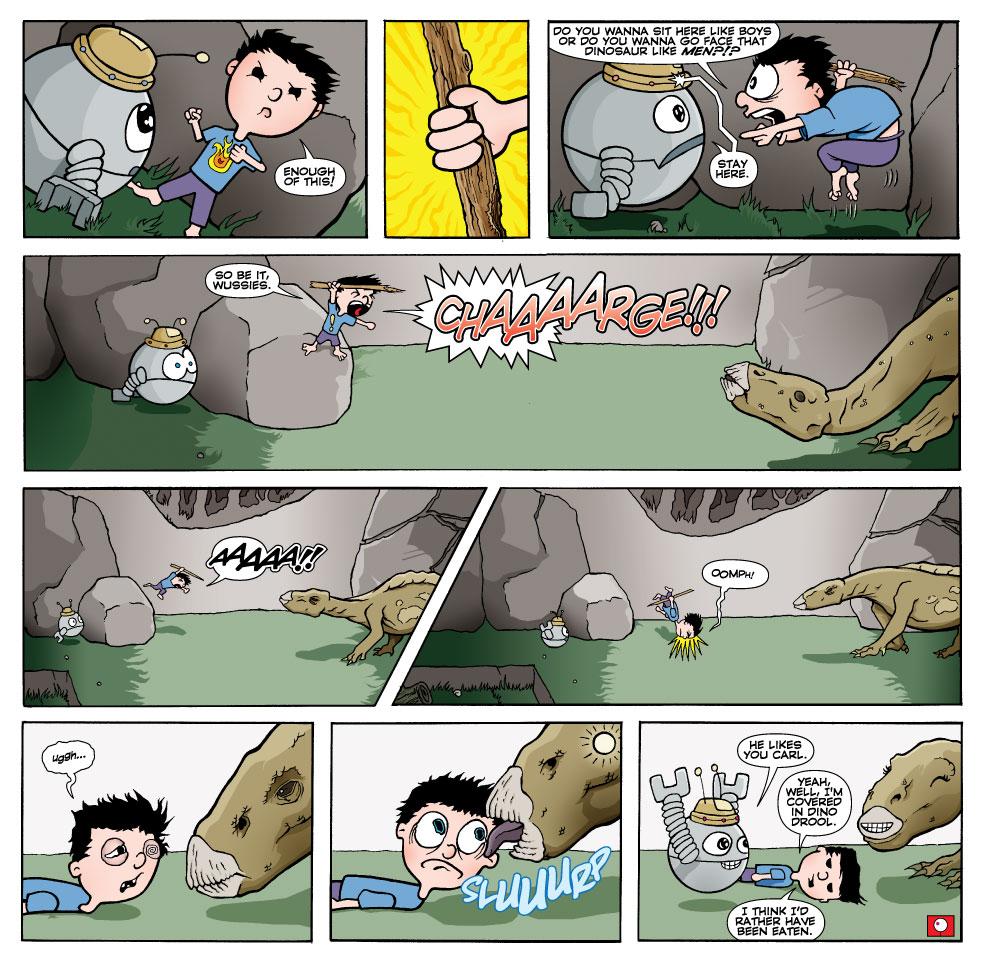Carl vs.Iggy…Start!