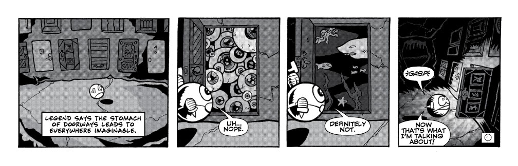 What's Behind Door Three?