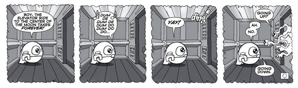 Zip in an Elevator…