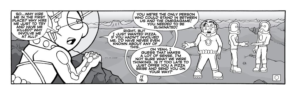 Pizza vs. Quest